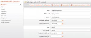 e-commerce fiche produit catalogue