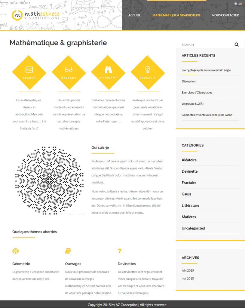 mathesthete