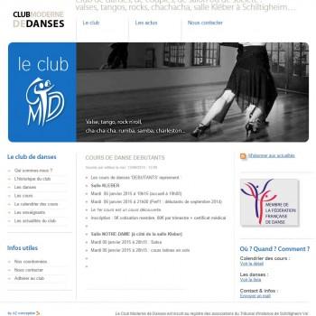 club moderne de danse